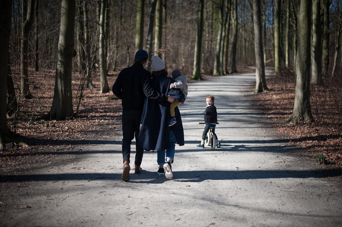 familie fotoshoot - forest