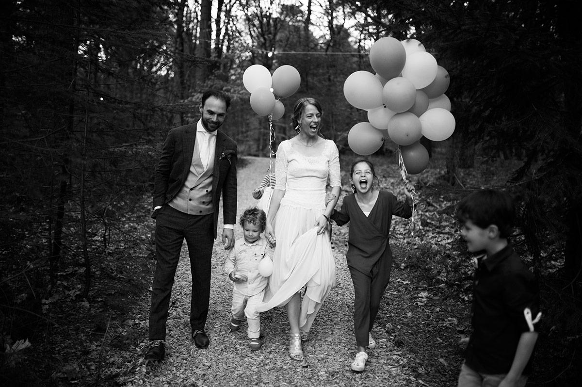 bruidsfotografie & trouwfotograaf - balloons